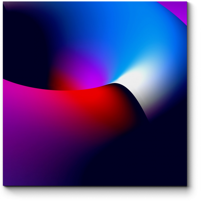 Модульная картина Спектр #4
