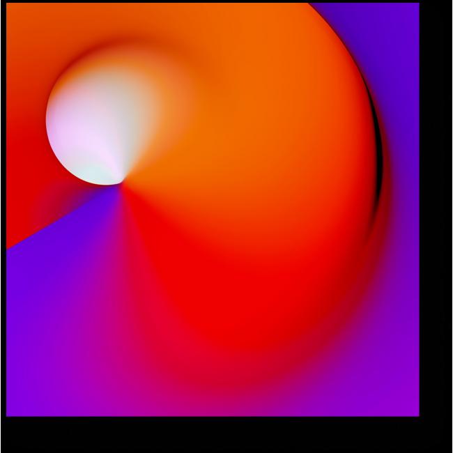 Модульная картина Спектр #18