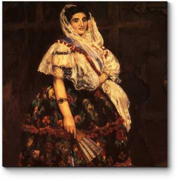 Модульная картина Лола из Валенсии