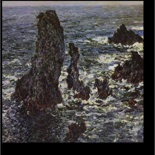 Модульная картина Скалы в Бель-Иль
