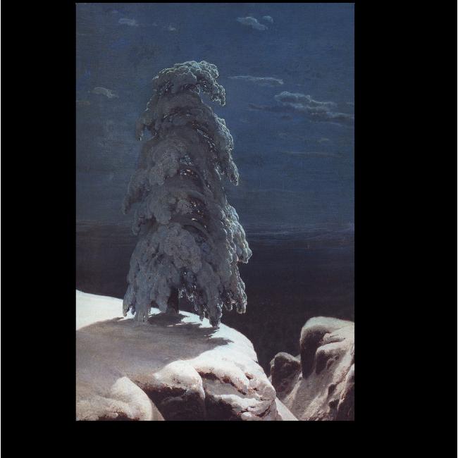Модульная картина На севере диком
