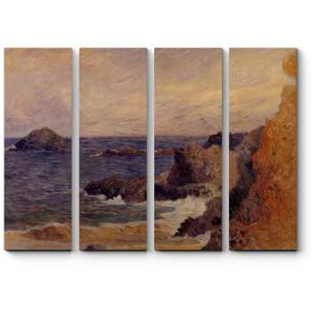 Скалы на побережье
