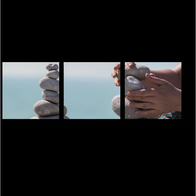 Модульная картина Медитация