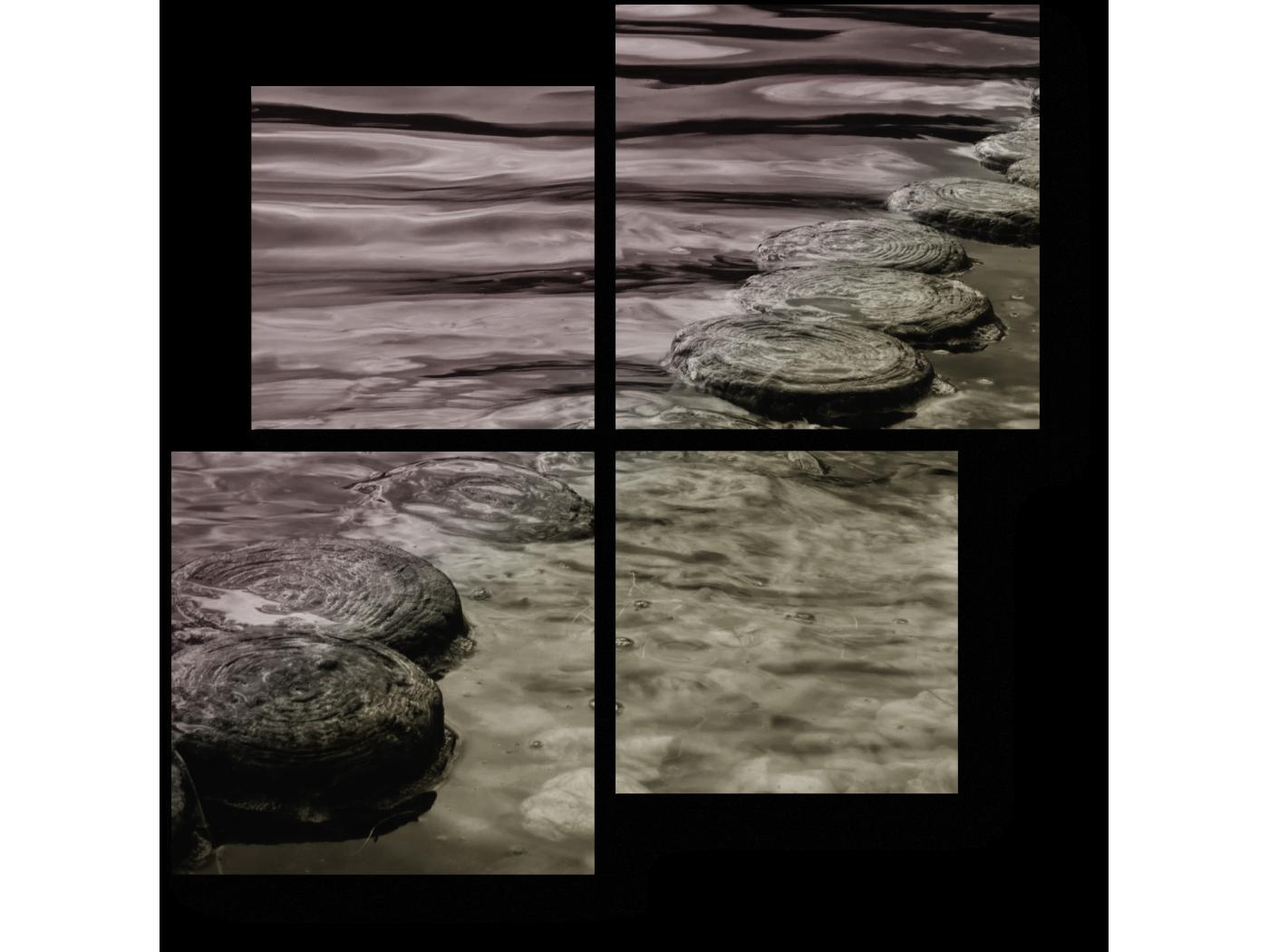 Модульная картина Релаксация (50x50) фото