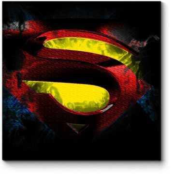 Модульная картина Логотип Супермена