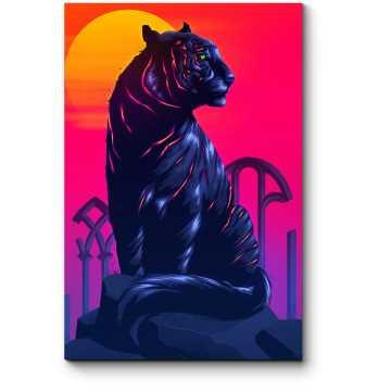 Модульная картина Спокойный зверь