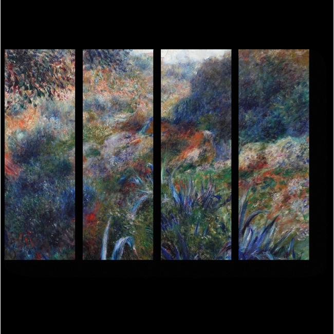 Модульная картина Алжирский пейзаж
