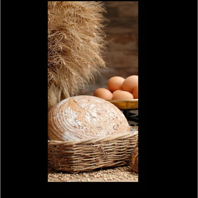 Модульная картина Хлебный стол