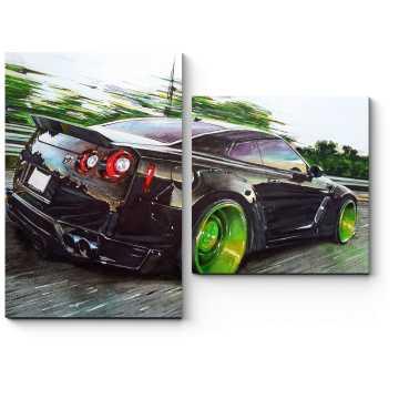 Nissan скорость
