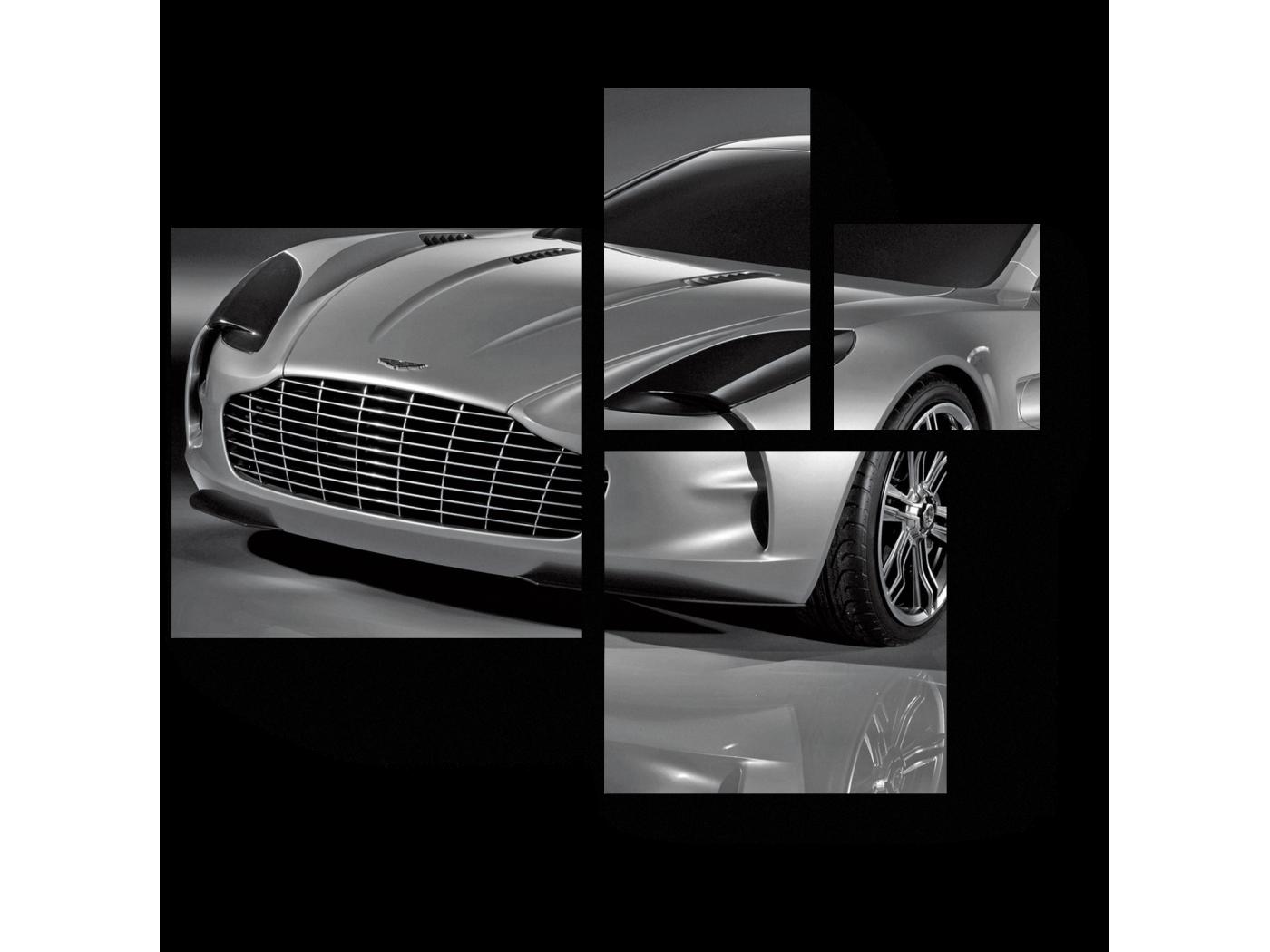 Модульная картина Аston (72x60) фото