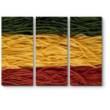 Спагетти цветные