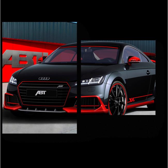 Модульная картина Черный Audi