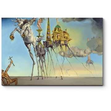 Модульная картина Искушение святого Антония