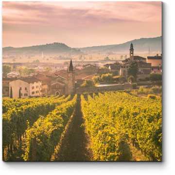 Вид на Соаве (Италия)
