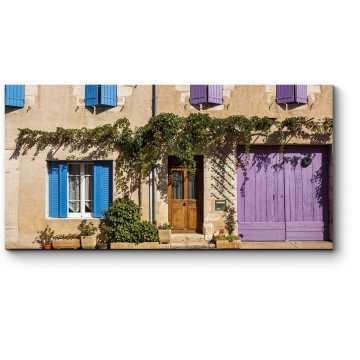 Модульная картина Фасад традиционного дома в Провансе