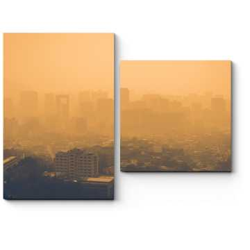 Модульная картина В мелкой пыли