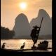Традиционная рыбалка в Китае
