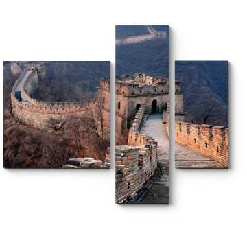 Модульная картина Великая стена