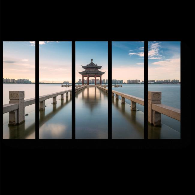 Модульная картина Пейзаж Китая