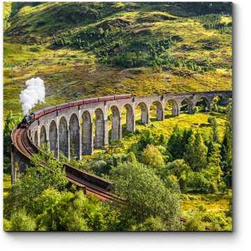 Модульная картина Гленфиннан, Шотландия