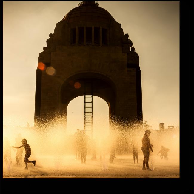 Модульная картина Солнечный Мехико
