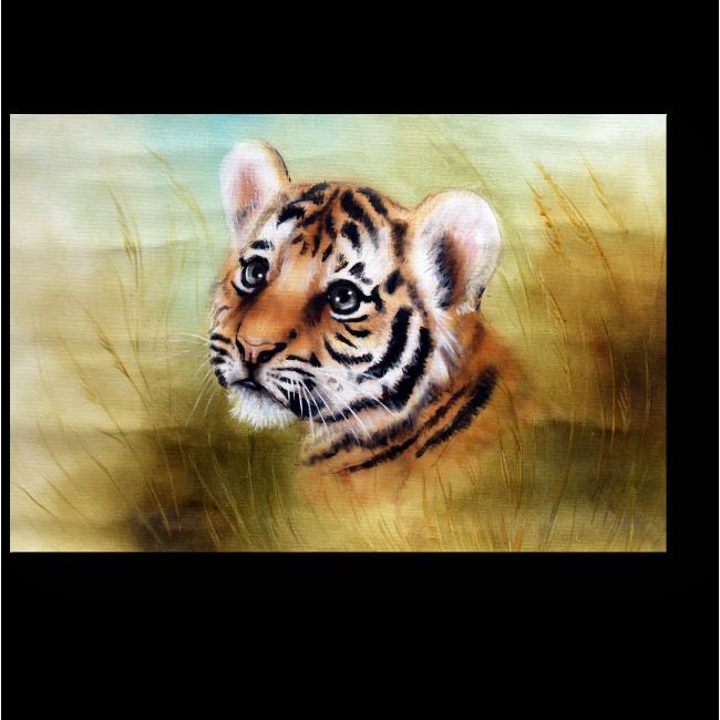 Модульная картина Милейший тигренок