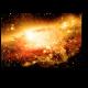 Звезды, планеты и галактики в свободном пространстве