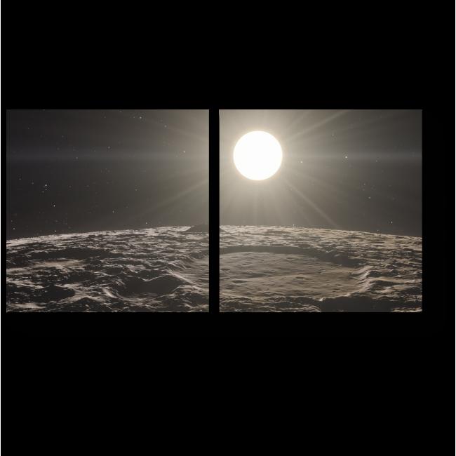 Модульная картина Меркурий в свете