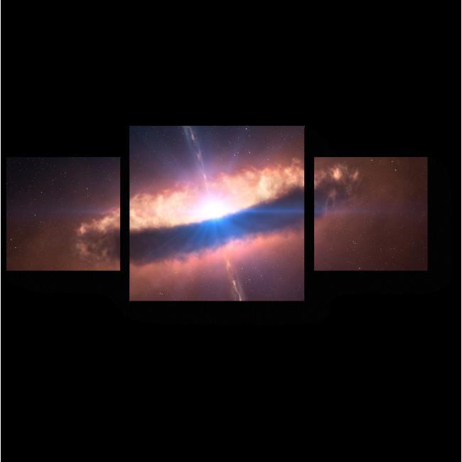 Модульная картина На окраинах галактики