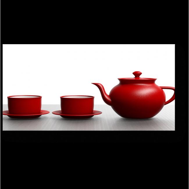 Модульная картина Чайное трио