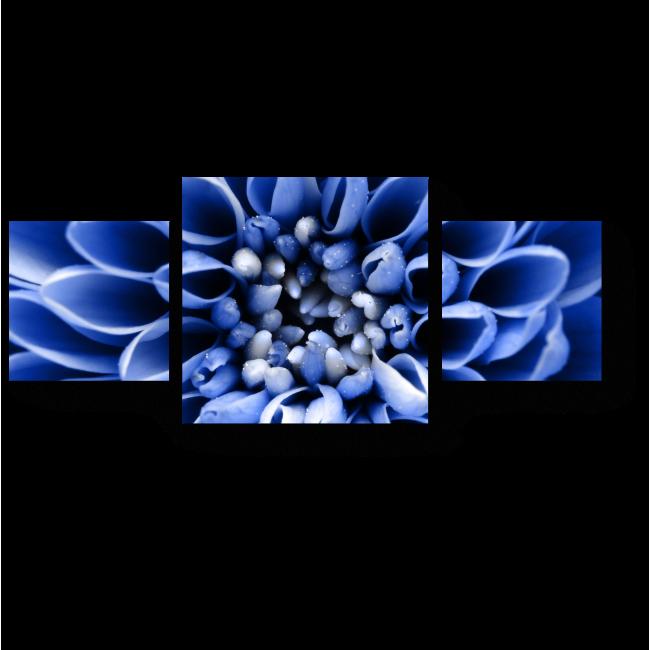 Модульная картина Запах синего