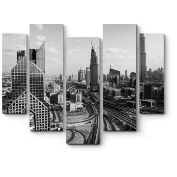 Модульная картина Строгий Даунтаун, Дубай