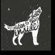 Модульная картина wolf