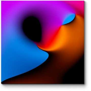 Модульная картина Спектр #7