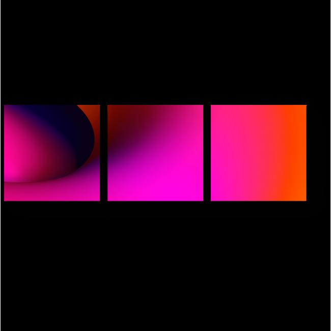 Модульная картина Спектр #6