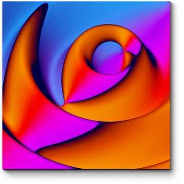 Модульная картина Спектр #14