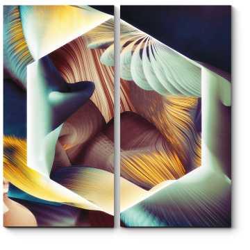 Модульная картина Абстракция #10