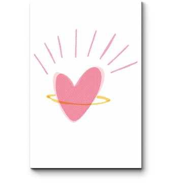 Модульная картина Милое сердце