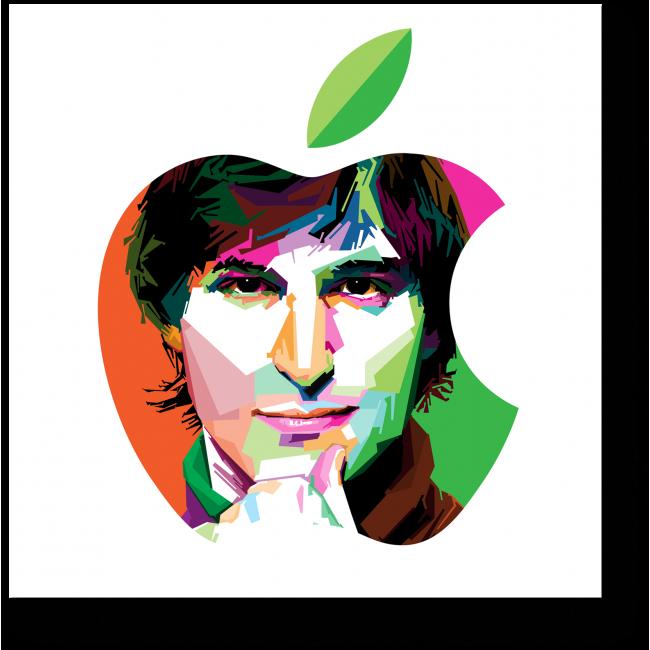 Модульная картина Стив Джобс