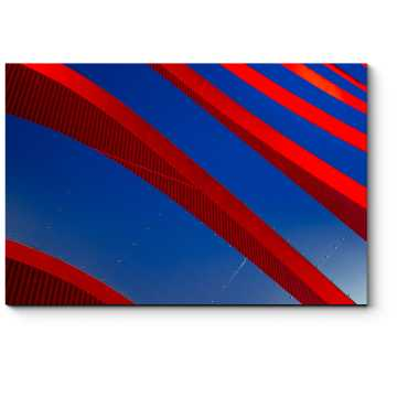 Сочетание красного и синего