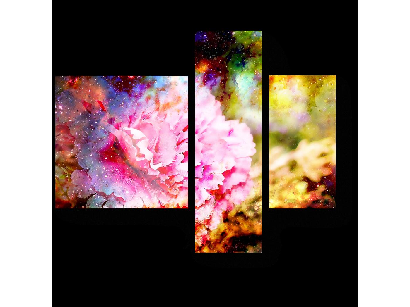 Модульная картина Гвоздика (80x66) фото
