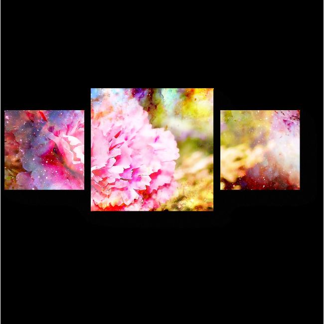 Модульная картина Гвоздика