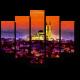 Сияющий Стамбул ночью