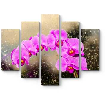 Модульная картина Роскошная орхидея