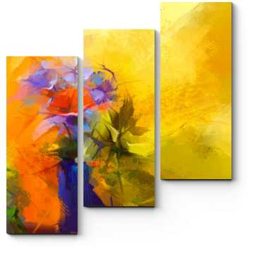 Модульная картина Цветущие краски весны