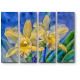 Нежные желтые орхидеи