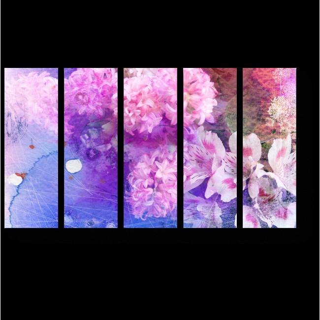 Модульная картина Яркие краски весны