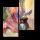 Нежные гиацинты в вазе