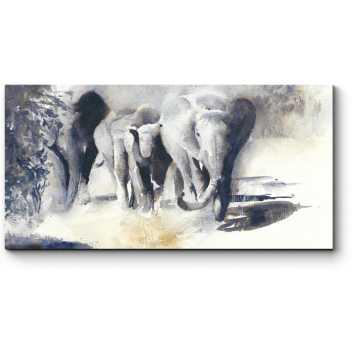 Модульная картина Африканское сафари