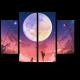 Ночная прогулка под звездным небом